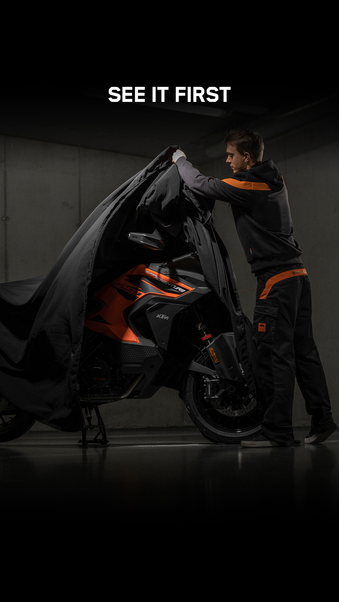 UNBOXED BIJ DD BIKES KTM 1290 SUPER ADVENTURE S 2021